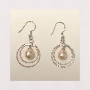 Jewelry - New | Sterling Silver & Freshwater Pearl Earrings